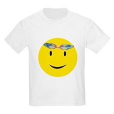 Swimmer Smiley / Eat my Bubbl Kids T-Shirt