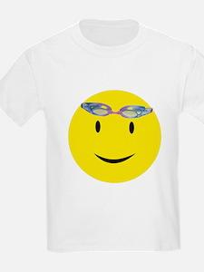 Swimmer Smiley / Eat my Bubbl Kids T-Shirt