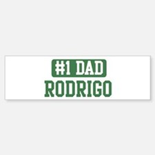 Number 1 Dad - Rodrigo Bumper Bumper Bumper Sticker