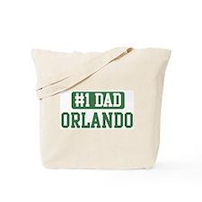 Number 1 Dad - Orlando Tote Bag