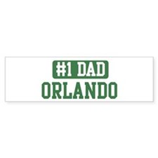 Number 1 Dad - Orlando Bumper Bumper Sticker