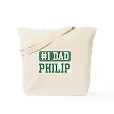 Number 1 Dad - Philip Tote Bag