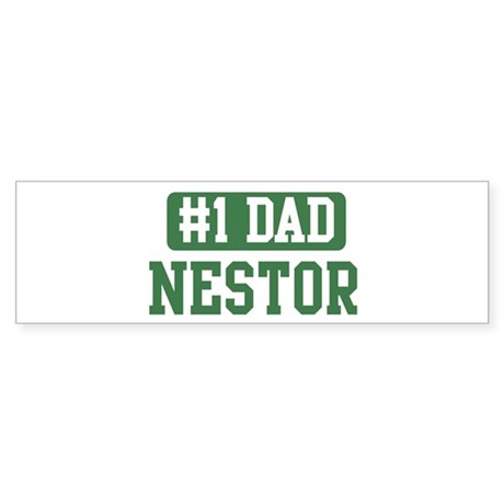 Number 1 Dad - Nestor Bumper Sticker