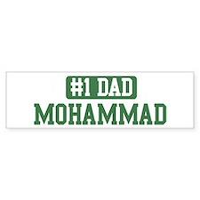 Number 1 Dad - Mohammad Bumper Bumper Sticker