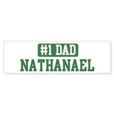 Number 1 Dad - Nathanael Bumper Bumper Sticker