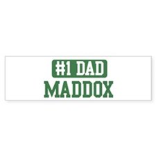 Number 1 Dad - Maddox Bumper Bumper Sticker