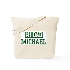 Number 1 Dad - Michael Tote Bag