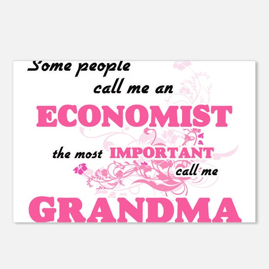 Some call me an Economist Postcards (Package of 8)