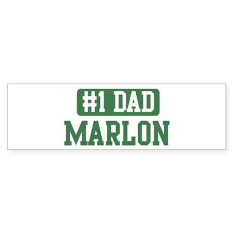 Number 1 Dad - Marlon Bumper Sticker