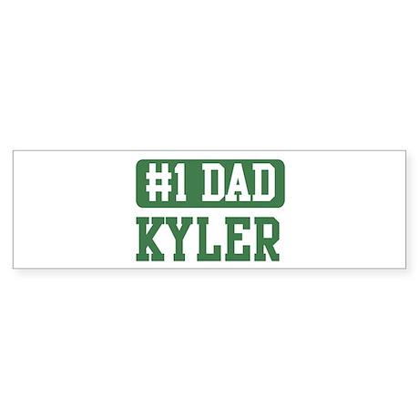 Number 1 Dad - Kyler Bumper Sticker