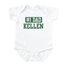 Number 1 Dad - Kellen Infant Bodysuit