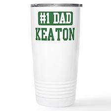Number 1 Dad - Keaton Travel Mug