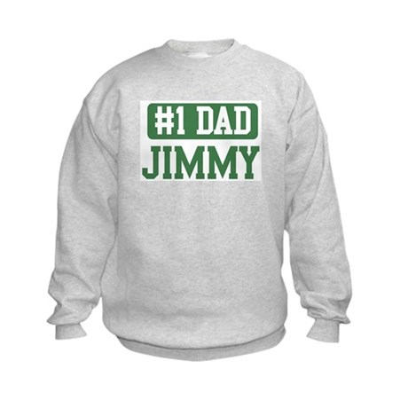 Number 1 Dad - Jimmy Kids Sweatshirt