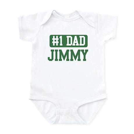 Number 1 Dad - Jimmy Infant Bodysuit