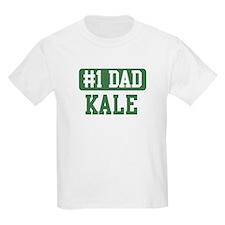 Number 1 Dad - Kale T-Shirt