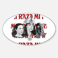 NEW!! MI RAZA (FOR WOMEN) Oval Decal