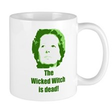 Wicked Witch is Dead (green) Small Mug
