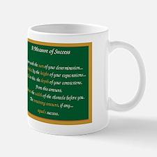 """Measure of Success"" Inspirational Mug"