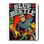 Classic Blue Beetle 3 Mousepad