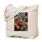 Classic Blue Beetle 3 Tote Bag