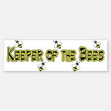 Keeper of the Bees Bumper Bumper Bumper Sticker