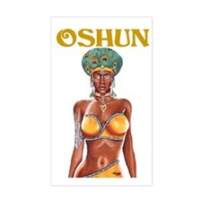 NEW!!! OSHUN CLOSE-UP Rectangle Decal