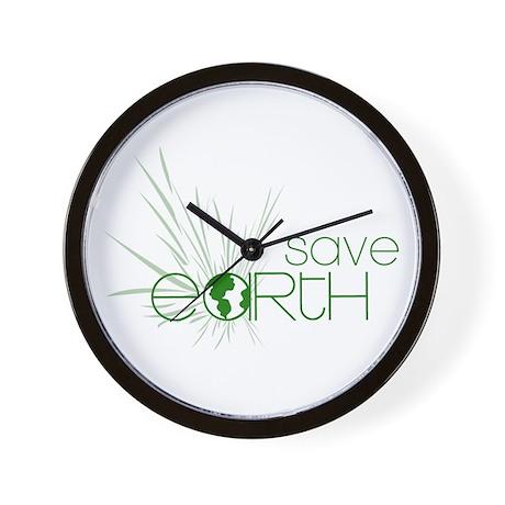 Save Earth Wall Clock