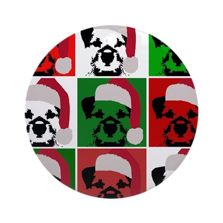 Holiday Warhol Ornament (Round)