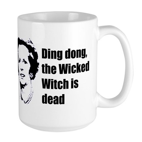 Thatcher - Ding dong the Wick Large Mug