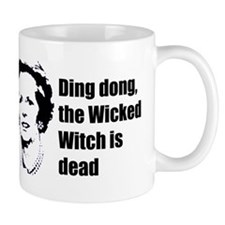 Thatcher - Ding dong the Wick Small Mug