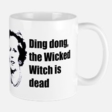 Thatcher - Ding dong the Wick Small Small Mug