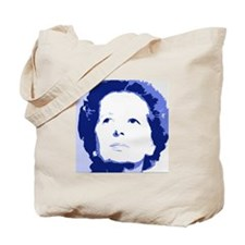 Margaret Thatcher - True Blue Tote Bag