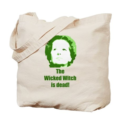 Wicked Witch is Dead (green) Tote Bag
