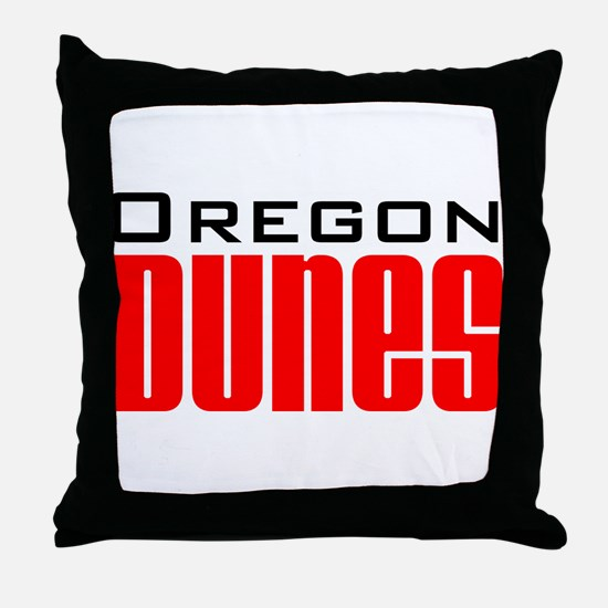 Cute Sand dune Throw Pillow
