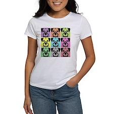 Border Terrier a la Warhol 4 Tee