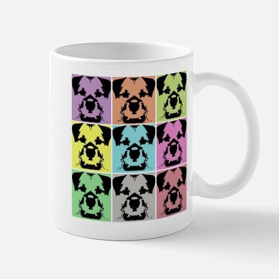 Border Terrier a la Warhol 4 Mug