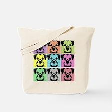 Border Terrier a la Warhol 4 Tote Bag