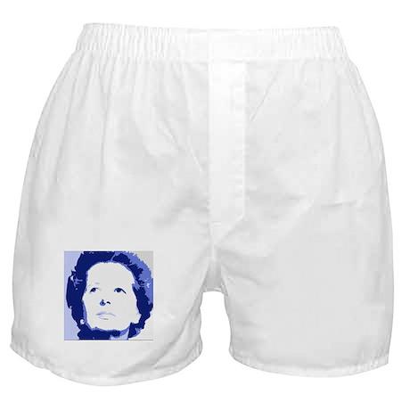 Margaret Thatcher - True Blue Boxer Shorts