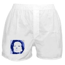 Margaret Thatcher - True Blue Boxer Shorts