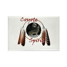 Coyote Spirit Rectangle Magnet