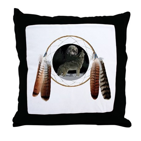Coyote Spirit Throw Pillow