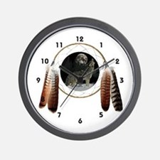 Coyote Spirit Wall Clock