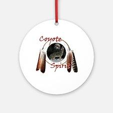 Coyote Spirit Ornament (Round)