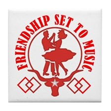 FRIENDSHIP Tile Coaster