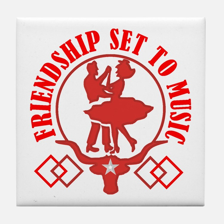FRIENDSHIP Tile Coaster