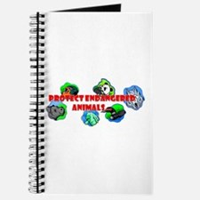 Protect endangered animals Journal