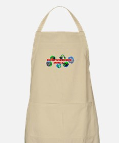 Protect endangered animals BBQ Apron