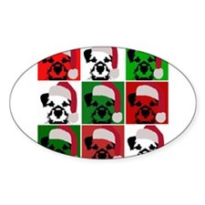 Holiday Warhol Oval Decal