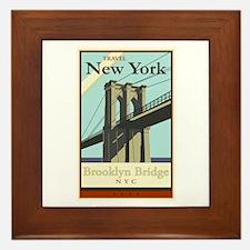 Travel New York Framed Tile