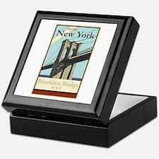 Travel New York Keepsake Box